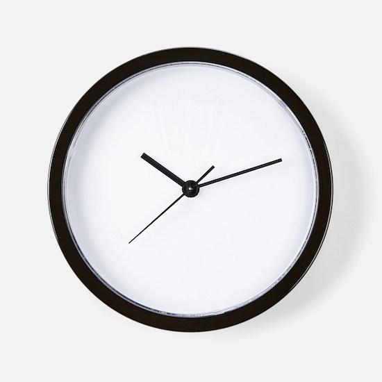 Skull Catcher White Wall Clock