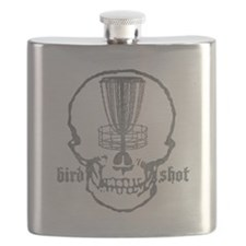 Skull Catcher Metallic Flask