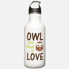owlyouneedislove Water Bottle