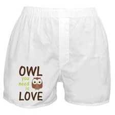 owlyouneedislove Boxer Shorts