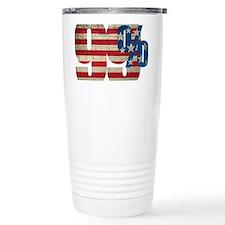99% T-Shirt Art Front Thermos Mug
