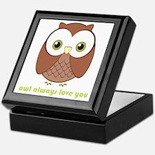 owlalwaysloveyou Keepsake Box