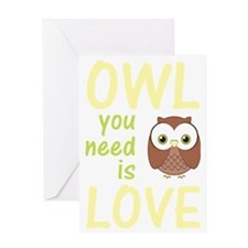 owlyouneedislovedark Greeting Card