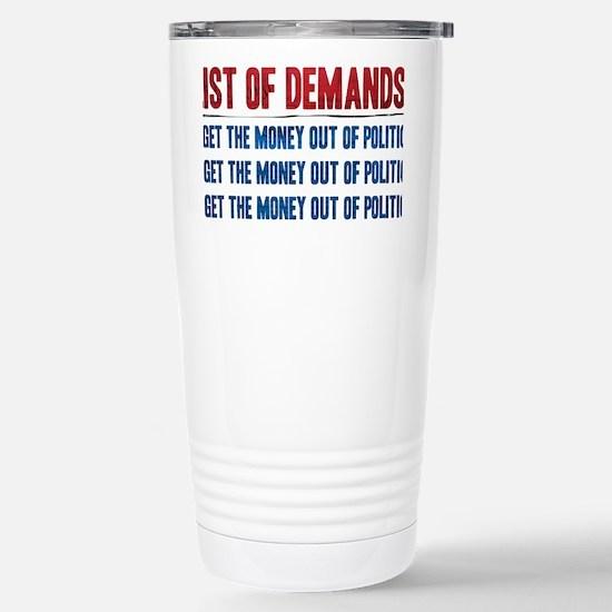 LOD T-Shirt Art Back Stainless Steel Travel Mug