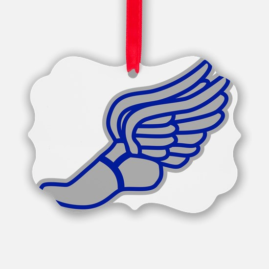 blue-silver-3000 Ornament