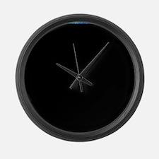 Starry Night - Remixed Large Wall Clock
