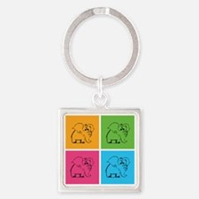 cool56 Square Keychain