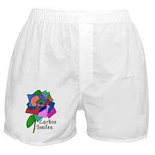 104 Rose back of tee shirt Boxer Shorts