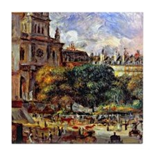 Renoir: Church of the Holy Trinity in Tile Coaster