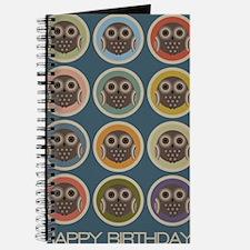 Circle OwlBday Journal