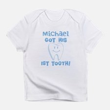 Personalized Baby Boy 1st Tooth Infant T-Shirt