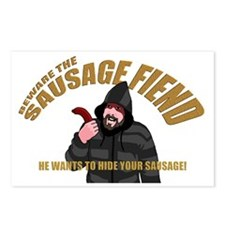 SAUSAGE FIEND Postcards (Package of 8)