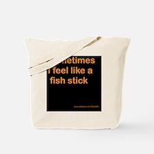 fishstick and url Tote Bag