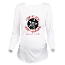 kimmy kegstands_FINA Long Sleeve Maternity T-Shirt