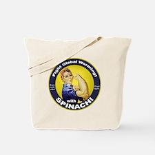 Rosie Round Tote Bag