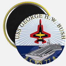 Uss George H. W. Bush Cvn-77 Magnets