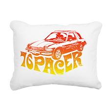 76pacer Rectangular Canvas Pillow