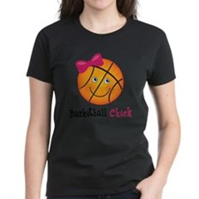 BasketballChick2 Tee