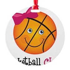 BasketballChick2 Ornament