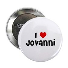 "I * Jovanni 2.25"" Button (10 pack)"