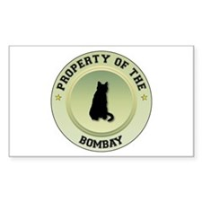 Bombay Property Rectangle Stickers