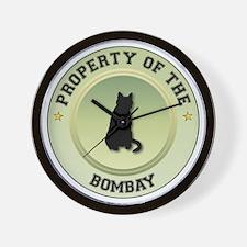 Bombay Property Wall Clock