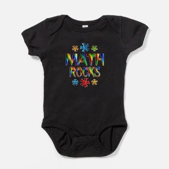 Cute Mathematics Baby Bodysuit