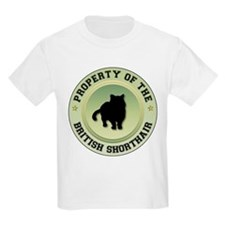 Shorthair Property Kids T-Shirt