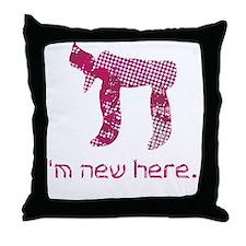hi_new_1 Throw Pillow