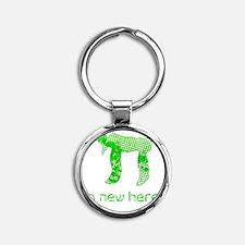 hi_new Round Keychain