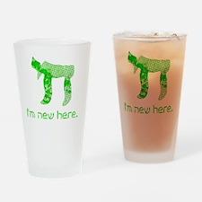 hi_new Drinking Glass