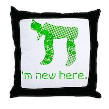 hi_new Throw Pillow