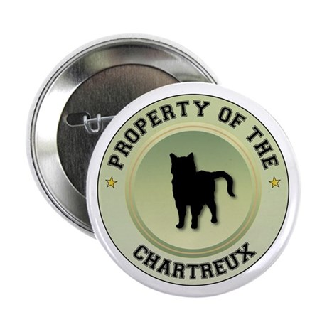 "Chartreux Property 2.25"" Button (10 pack)"