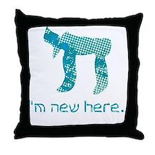 hi_new_2 Throw Pillow