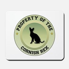 Cornish Rex Property Mousepad