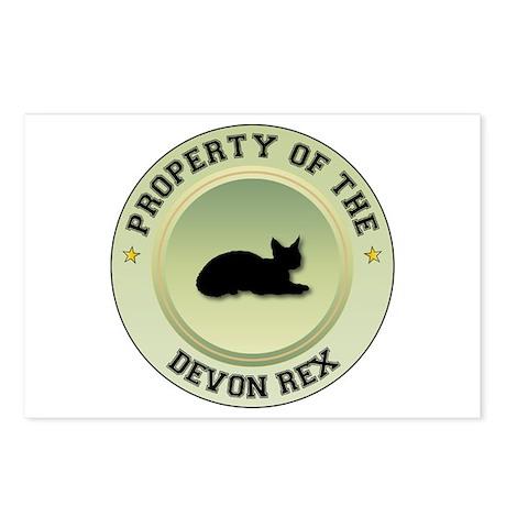 Devon Rex Property Postcards (Package of 8)