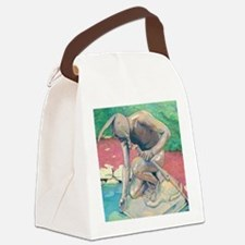 indian@9x12 Canvas Lunch Bag