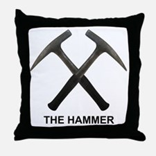 The Hammer Light Throw Pillow