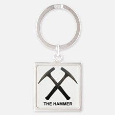The Hammer Light Square Keychain
