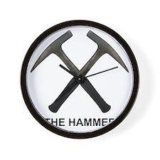 The Hammer Light Wall Clock