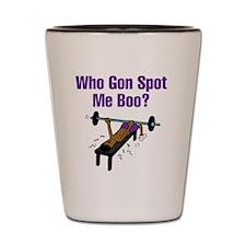 WhoGon Shot Glass