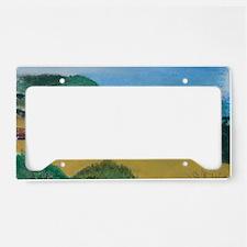 Big Sur Evening b shirt License Plate Holder
