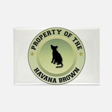 Havana Property Rectangle Magnet