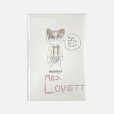 Mrs. Lovett Chibi (HD) Rectangle Magnet