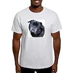 Hug A Pug Ash Grey T-Shirt