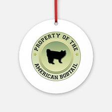 Bobtail Property Ornament (Round)