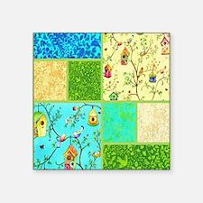 """tweet collage Square Sticker 3"""" x 3"""""""