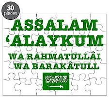 ARAB GREETING - ASSALAM ALAYKUM Puzzle