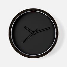 Dark Starry Night Wall Clock