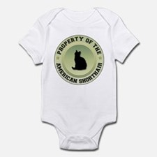 Shorthair Property Infant Bodysuit